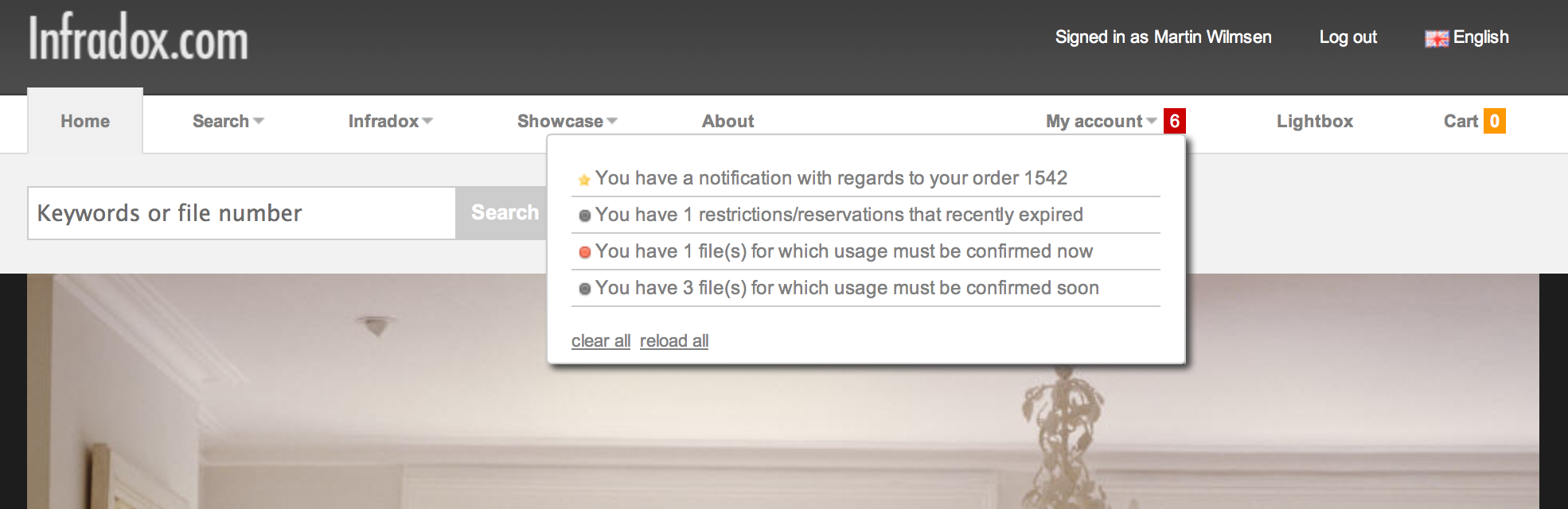 Screenshot notifications