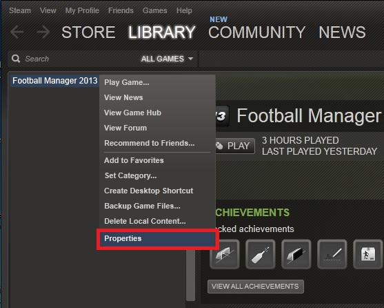 "How to solve ""Football Manager 2013 has stopped working"" error"