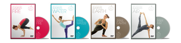 Katy Appleton's yoga elements DVDs